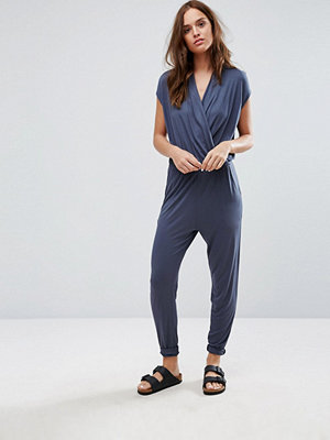 Selected Silla Jumpsuit - Ombre blue