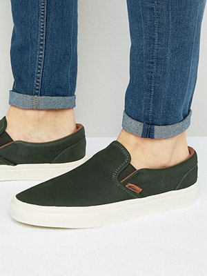 Sneakers & streetskor - Vans Classic Slip-On DX Plimsolls In Green VA2Z5MM35