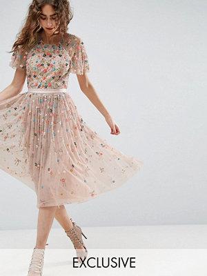 Needle & Thread Needle and Thread Starburst Embellished Midi Dress