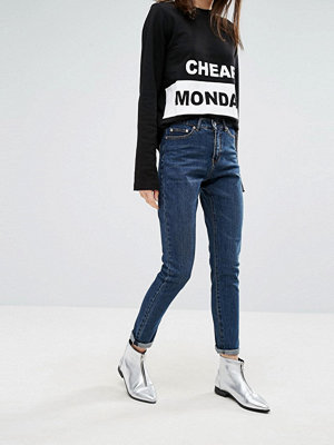 Jeans - Cheap Monday Donna High Wasted Mom Jeans