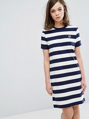 Fred Perry Archive Striped T-shirt Dress