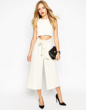 Jumpsuits & playsuits - ASOS Culotte Jumpsuit With Cut Out Front
