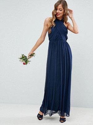 ASOS Chiffon Ruched Maxi Dress