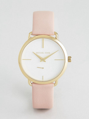 Michael Kors MK2659 Pink Cinthia Leather Watch