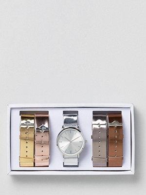 Klockor - Aldo Metallic Multi Strap Watch