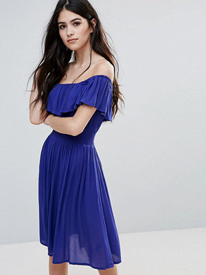 Brave Soul Bardot Midi Dress