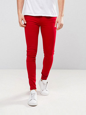 Jeans - Dr. Denim Lexy Jeans Vicious Red