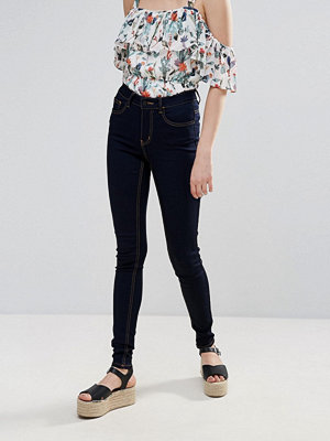 Pieces Jute Mid Rise Skinny Jeans