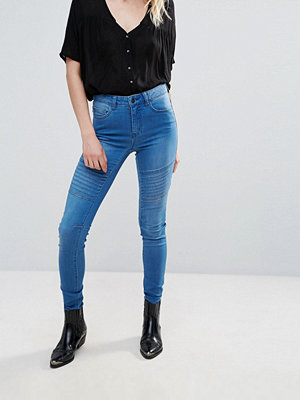 Pieces Jute Rine Panelled Skinny Jeans