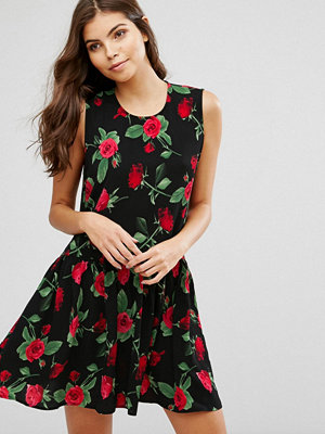 Ax Paris Floral Skater Dress