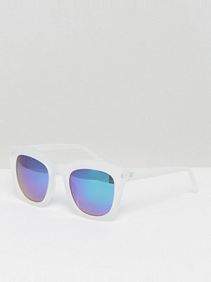 New Look Clear Mirrored Sunglasses