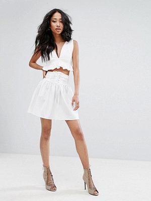 Kjolar - PrettyLittleThing Corsetted Floaty Skirt