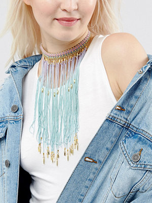 Chokers - ASOS Mermaid Ombre Choker Necklace