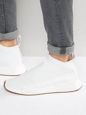 Sneakers & streetskor - Adidas Originals NMD_CS1 PK Trainers In White BA7208