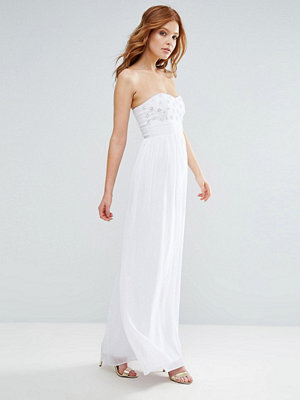 City Goddess Bandeau Maxi Dress