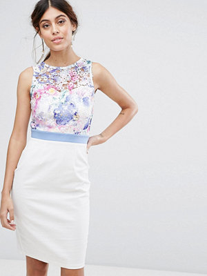 Paper Dolls 2 in 1 Lace Midi Dress