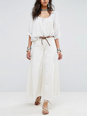 Free People Run Through the Moss Wide Jean