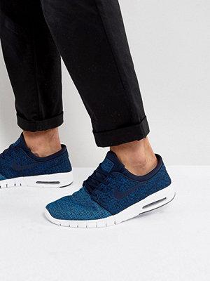 Nike Sb Stefan Janoski Max Trainers In Blue 631303-444