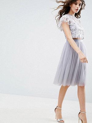 Needle & Thread Tulle Midi Skirt