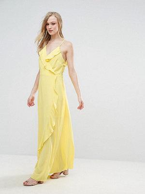 Liquorish Ruffle Maxi Dress
