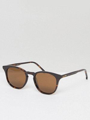 Solglasögon - Komono The Beaumont Square Sunglasses in Tort