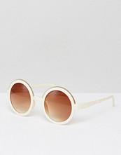 Solglasögon - 7X Round Sunglasses With Faded Lens
