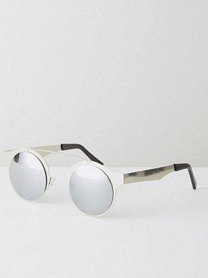 Solglasögon - Spitfire Intergalactic Round Sunglasses In Silver