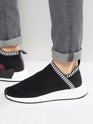 Sneakers & streetskor - Adidas Originals NMD_CS2 PK Trainers In Black BA7188