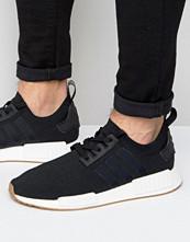 Sneakers & streetskor - Adidas Originals NMD_R1 PK Trainers In Black BY1887
