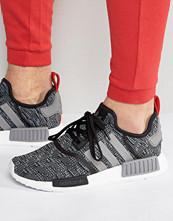 Sneakers & streetskor - Adidas Originals NMD_R1 Trainers In Black BB2884