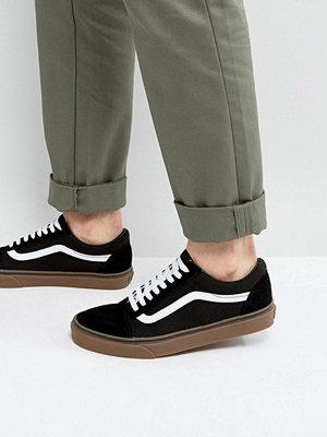 Sneakers & streetskor - Vans Old Skool Gum SoleTrainers In Black V1R1GI6