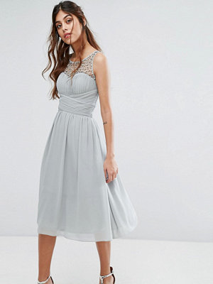 Little Mistress Embellished Midi Dress