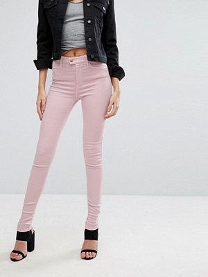 Replay Touch Skinny jeans med väldigt hög midja