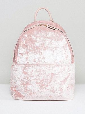 Glamorous ryggsäck Crushed Velvet Backpack