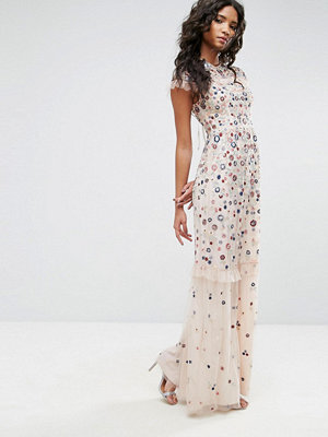 Needle & Thread Posy Embroidered Gown
