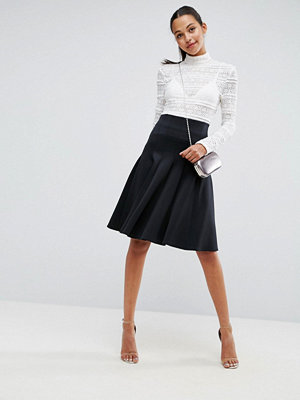 ASOS Prom Skirt with High Waist in Scuba