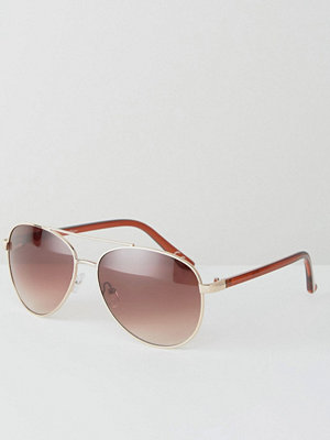 Solglasögon - Jeepers Peepers Aviator Sunglasses In Gold