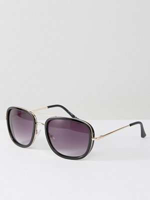 Solglasögon - Jeepers Peepers Square Sunglasses With Double Brow