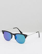 Solglasögon - 7X Retro Sunglasses With Blue Lenses