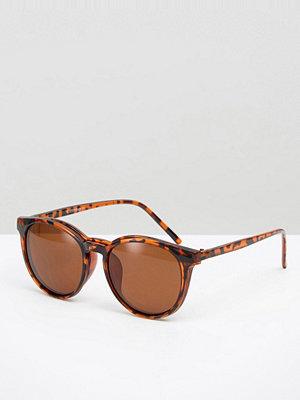 Solglasögon - 7X Round Sunglasses With Detachable Lenses