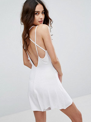 Boohoo Strappy Back Swing Playsuit