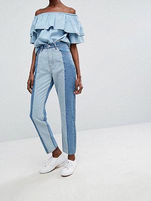 Jeans - Twiin Levels Two Tone Mom Jean