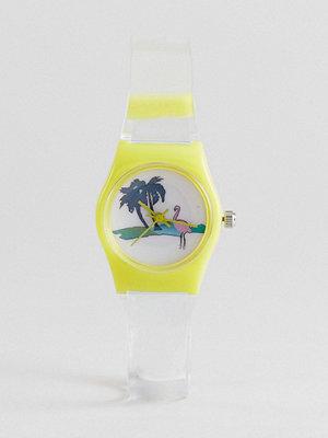 Klockor - ASOS Mini Flamingo Watch