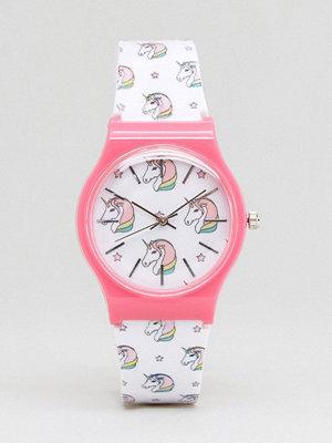 Klockor - ASOS Novelty Unicorn Print Watch