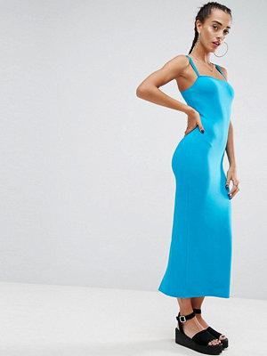 ASOS City Maxi Double Strap Bodycon Dress