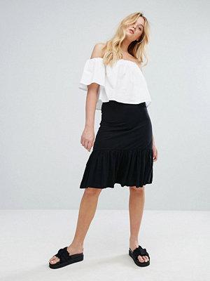 Pull&Bear Ruffle Hem Skirt