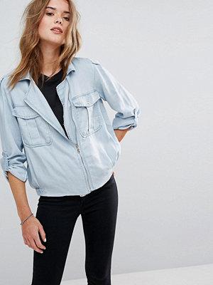 Jeansjackor - Pimkie Utility Denim Jacket