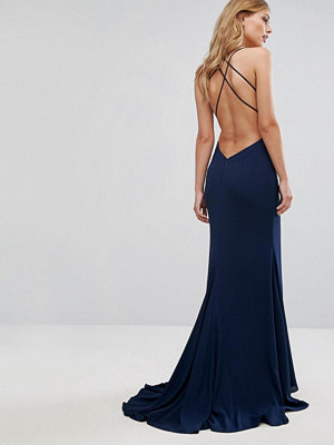 Fame and Partners Strappy Gown with Fishtail