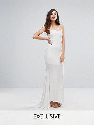 Club L Bandeau Fishtail Maxi Dress