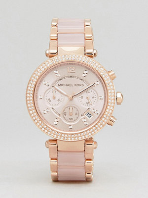 Michael Kors MK5896 Parker Chronograph Bracelet Watch In Rose Gold